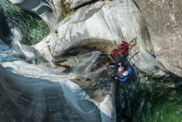 Canyoning in Cresciano, Tessin - Switzerland