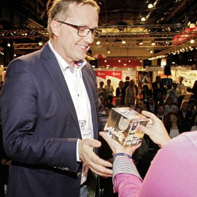 Manfred Dreher - Managing Director Prodir GmbH - at Promotional Gift Award 2015