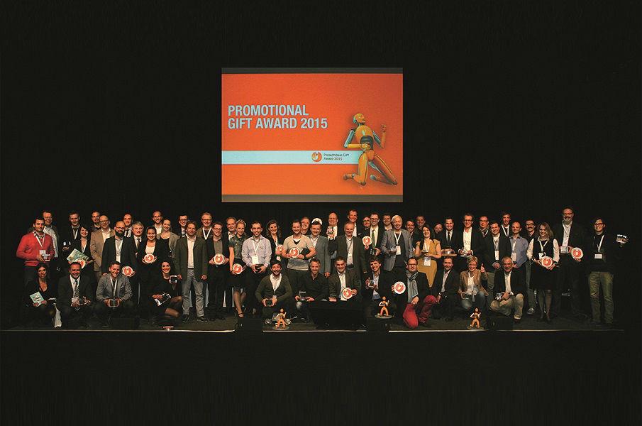 Promotional Gift Award 2015 winners celebration