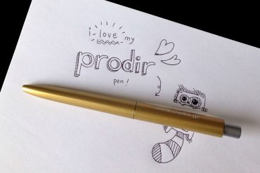 Prodir DS8 pen by Junel Che, Illustrator & Designer