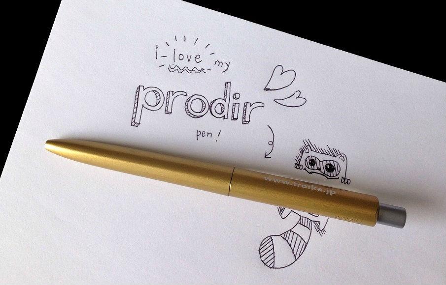 Prodir DS8 pen by Junel Che, Illustrator & Designer