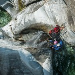 Canyoning in Ticino, Switzerland