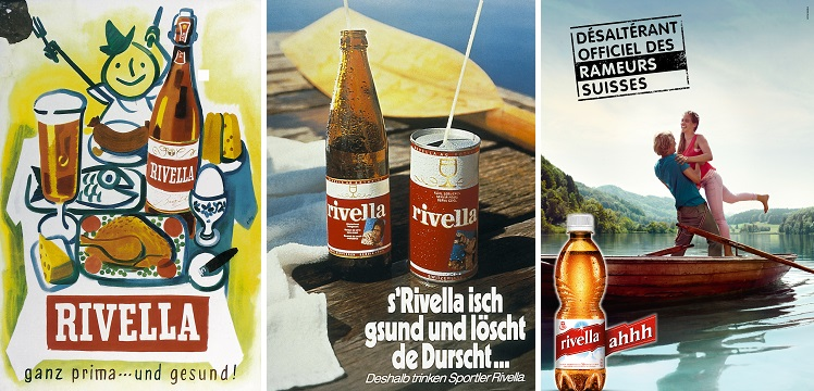 Rivella, Swiss soft drink - Advertising posters