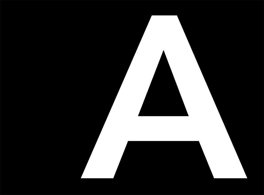 Avenir font sample