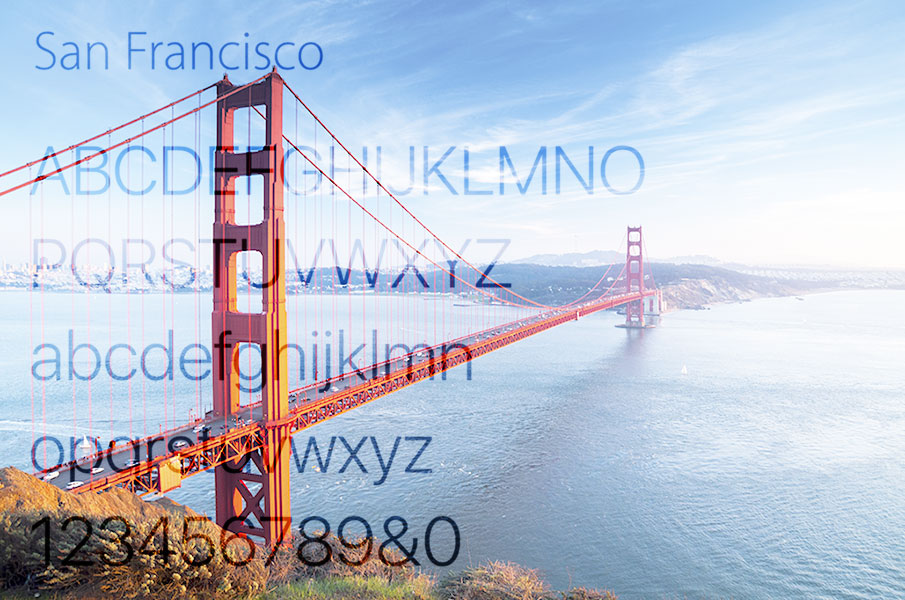 How and why Apple moved from Helvetica to the new custom typeface San Francisco