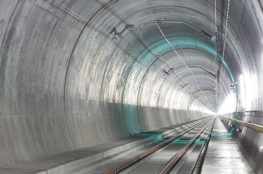 Gotthard longest base tunnel in the world - Prodir blog