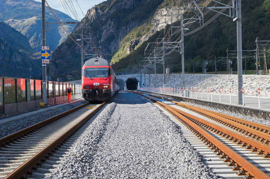 Gotthard train longest tunnel in the world - Prodir blog
