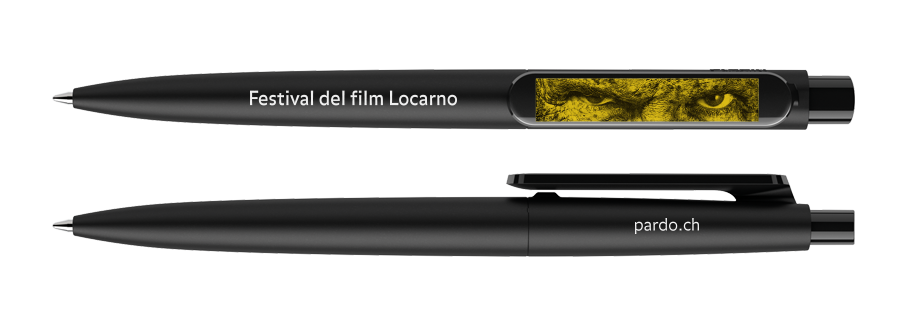 The official pen of the Locarno Film Festival 69 by Prodir