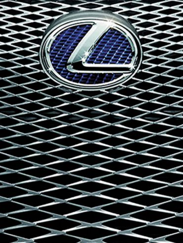 Lexus car grid