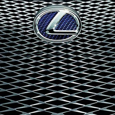 Lexus car grid