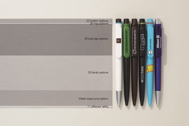 Prodir DS9 - Custom pen combinations